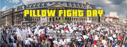 International Pillow Fight Day – Bucharest 2016